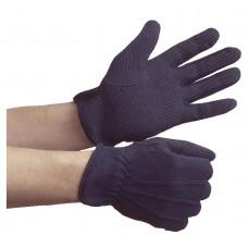 Skyddsvante med PVC noppor, blå