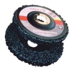 Grovrengörare med fiberbaksida för vinkelslipmaskiner