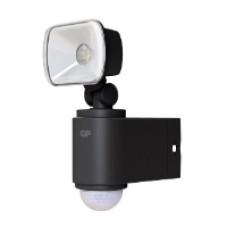 Utebelysning trådlös 1 lampa, svart