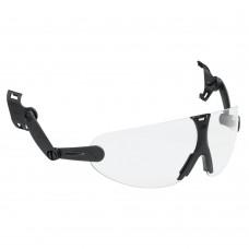 Skyddsglasögon 3M V9 Hjälmintegrerat, klara