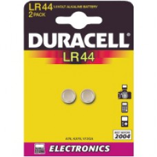 Knappellsbatterier Duracell LR44 2 pack