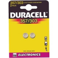 Knappcellsbatterier 357/303 2-pack